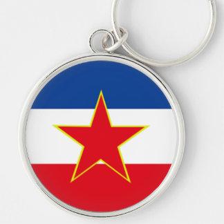 Drapeau de la Yougoslavie Porte-clé
