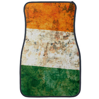 Drapeau de l'Irlande Tapis De Voiture
