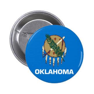 Drapeau de l'Oklahoma Badge Avec Épingle