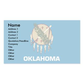 Drapeau de l'Oklahoma Cartes De Visite Personnelles