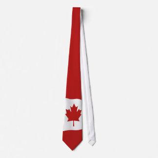 Drapeau de l'Unifolié du Canada Cravate