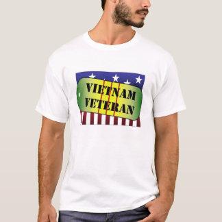 Drapeau de médaille de service de Dogtag de T-shirt