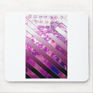 drapeau de mélange des USA (couleurs). Tapis De Souris