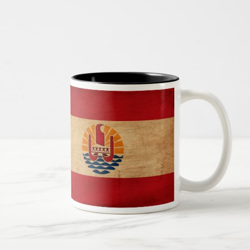 Drapeau de Polynésie française Tasses