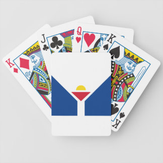 Drapeau de Saint Martin - Flag of Saint Martin Bicycle Playing Cards