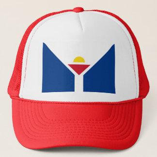 Drapeau de Saint Martin - Flag of Saint Martin Trucker Hat