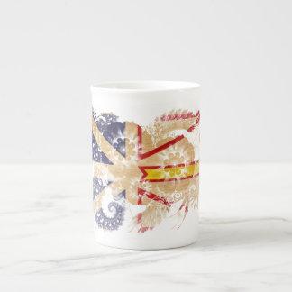 Drapeau de Terre-Neuve Mug Porcelaine Anglaise