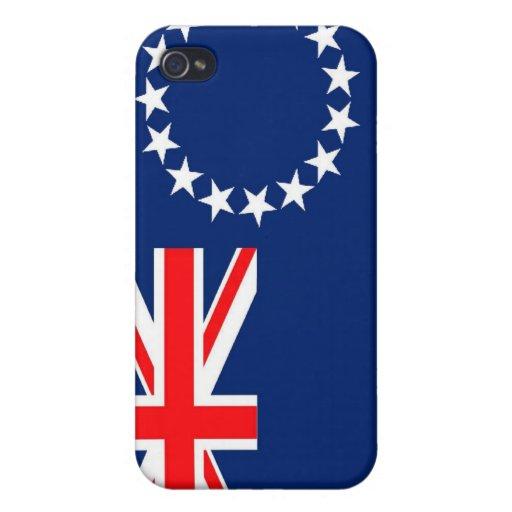 Drapeau des îles Cook Coque iPhone 4