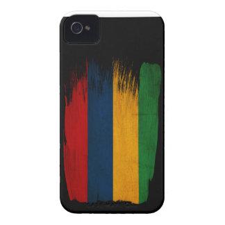 Drapeau des Îles Maurice Coque Case-Mate iPhone 4