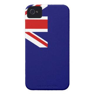 Drapeau des Îles Turques et Caïques Coques Case-Mate iPhone 4