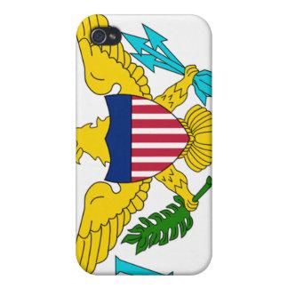 Drapeau des Îles Vierges Coques iPhone 4