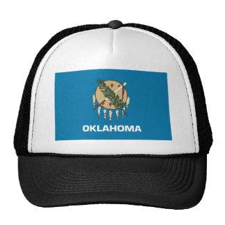 Drapeau d'état de l'Oklahoma Casquettes De Camionneur