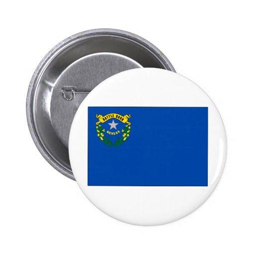Drapeau d'état du Nevada Badges Avec Agrafe