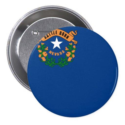 Drapeau d'état du Nevada Badge