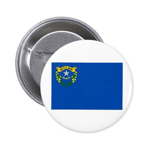 Drapeau d'état du Nevada Badge Avec Épingle