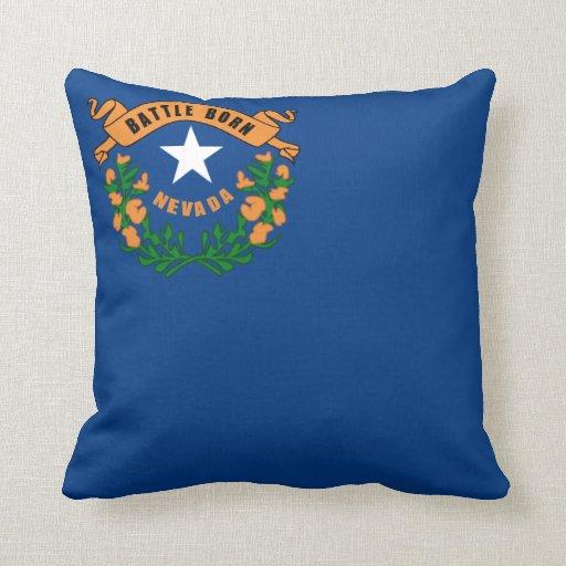 Drapeau d'état du Nevada Oreillers