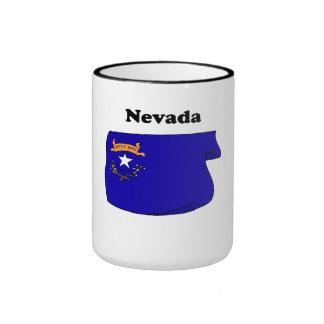 Drapeau d'état du Nevada Mug À Café