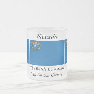 Drapeau d'état du Nevada Mugs