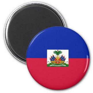 Drapeau d'Haïti - Flag of Haiti Magnet