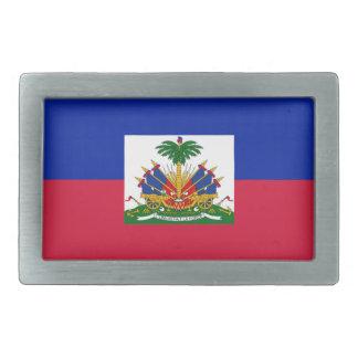Drapeau d'Haïti - Flag of Haiti Rectangular Belt Buckle