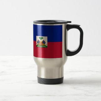 Drapeau d'Haïti - Flag of Haiti Travel Mug