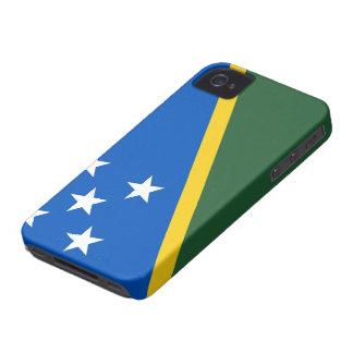 Drapeau d'îles Salomon Coque Case-Mate iPhone 4