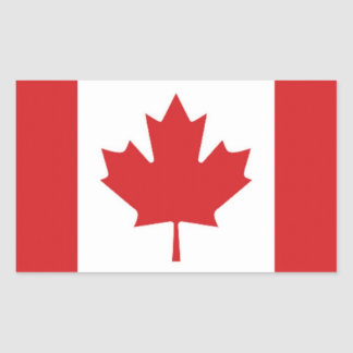 Drapeau du Canada Autocollants