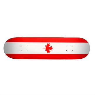 Drapeau du Canada - planche à roulettes Planches À Roulettes Customisées