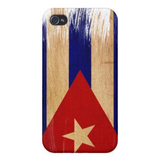 Drapeau du Cuba Étui iPhone 4