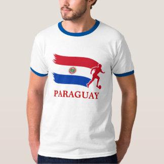 Drapeau du football du Paraguay T-shirt