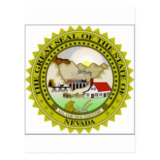 Drapeau du Nevada Cartes Postales