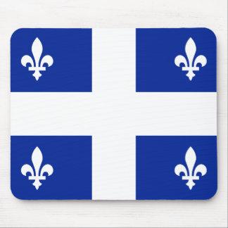 Drapeau du Québec Mousepad Tapis De Souris