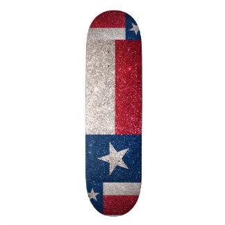 Drapeau du Texas de scintillement de Faux Plateaux De Planche À Roulettes