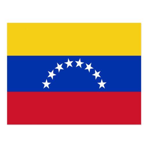 Drapeau du Venezuela Carte Postale