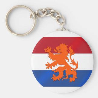 Drapeau effréné néerlandais de Pays-Bas de lion