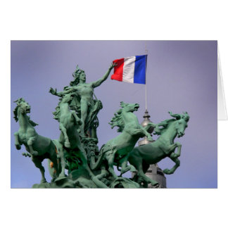 Drapeau français - Postcard from Paris4