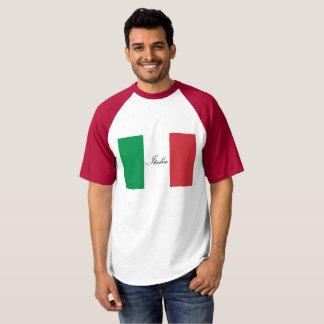 Drapeau italien - drapeau de l'Italie - l'Italie T-shirt