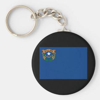 Drapeau Keychain d'état du Nevada Porte-clef