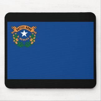 Drapeau Mousepad d'état du Nevada Tapis De Souris