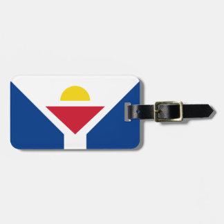 Drapeau of Saint Martin - Flag of Saint Martin Luggage Tag