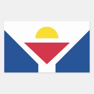 Drapeau of Saint Martin - Flag of Saint Martin Sticker