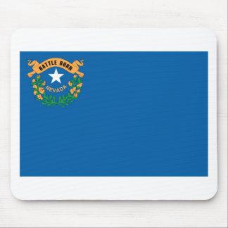 Drapeau officiel d'état du Nevada Tapis De Souris