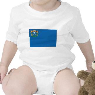 Drapeau officiel d'état du Nevada Body Pour Bébé