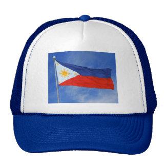 Drapeau philippin casquettes de camionneur