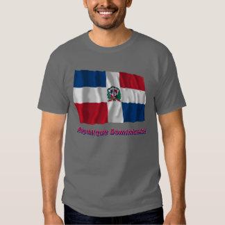 Drapeau République dominicaine nom en français Tee Shirts