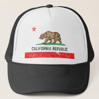 Drapeau vintage de la Californie Casquette