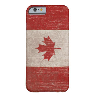 Drapeau vintage du Canada Coque Barely There iPhone 6