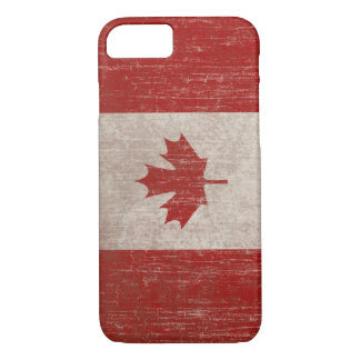 Drapeau vintage du Canada Coque iPhone 7