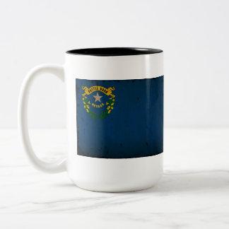 Drapeau VINTAGE.png d'état du Nevada Mugs À Café