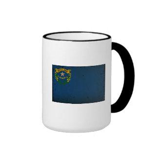 Drapeau VINTAGE.png d'état du Nevada Tasse À Café